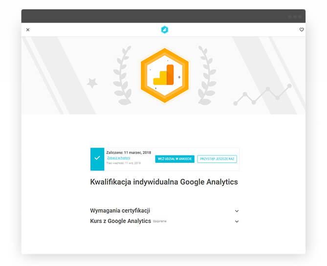 certyfikat-google-analytics