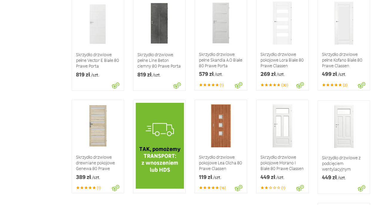 bannery między produktami przykłady